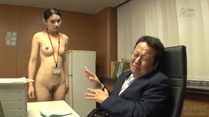 Asian brunette ramming hard in office HD