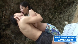 Hard ramming together with small boobs japanese supermodel