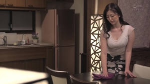 Hairy japanese stepmom censored bends to get fucked HD