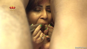 Big butt asian stepmother really likes dick sucking HD