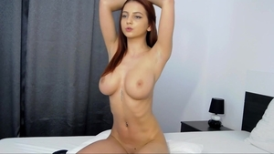 Big boobs amateur has a soft spot for hard slamming