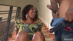 Nailed rough starring big boobs ebony stepmom
