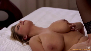 Large tits brutal fucked all the way