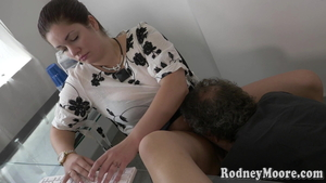 Rough fucking in the company of hairy american BBW