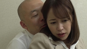 Wet japanese MILF wishes censored fucking hard in office HD