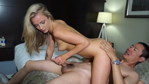Very hawt asian blonde hair has a soft spot for rough nailing