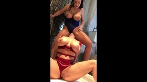 Busty mature Angela White does what shes told