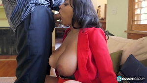Cat Bangles is large boobs mature