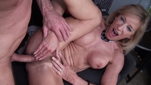 Loud sex accompanied by french mature