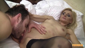 Blowjob cum at the party