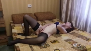 Loud sex lonely wife in sexy stockings