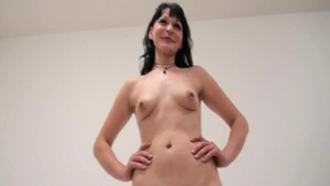 Cute czech babe fucked hard at casting