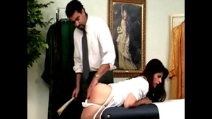 Disciplined in clinic next to big ass stepmom