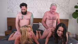 Team Skeet: Busty Lilly Lit blonde orgy XXX