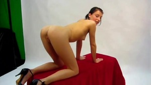 Bukkake at the audition starring hottest young deutsch mature