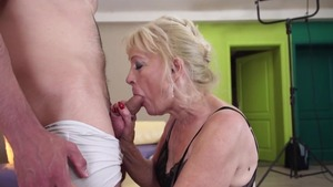 Rough sex in the company of young mature