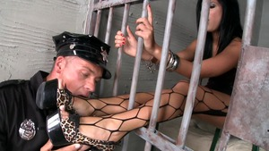 Madison Parker fucking in the jail