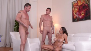 Rough sex together with very sexy MILF Sensual Jane in HD