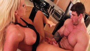Alura Jenson fucked all the way in the kitchen