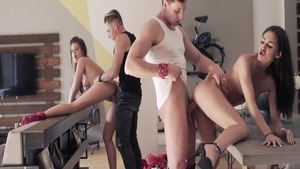 Wild amateur german Little Caprice POV group sex at the party