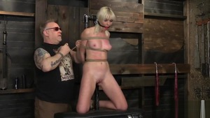 Raw roped along with blonde Marie Mccray