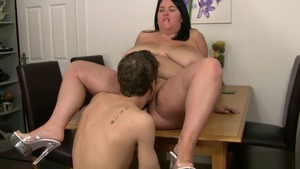 Ramming hard with huge BBW