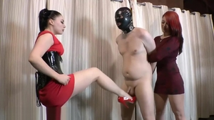 Femdom together with hottest in high heels