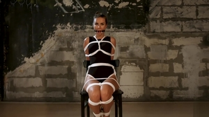 Babe feels in need of BDSM HD